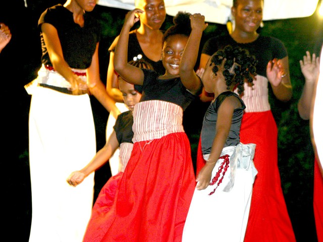 Dance Ministry performs at: Worship In Dance Concert