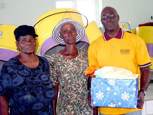HFC Steel Orchestra donates a care package to the less fortunate in the village of Willikies